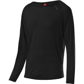 Löffler Evo Merino-Tencel Firstlayer Langarm Shirt Herren black